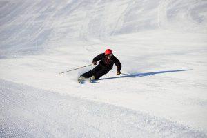 Skifahrer im Skigebiet Fügen/Spieljoch