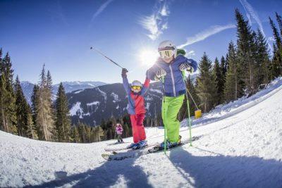 Bergpanorama im Skigebiet Fügen/Spieljoch
