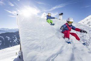 Kinder im Skigebiet Fügen/Spieljoch